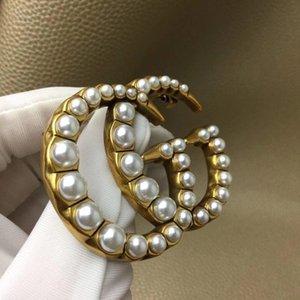 Großhandels-Designer Broschen Charme Dame Luxus-Designer-Schmuck Frauen Broschen Pin für Parteigeschenk heißen Verkauf Luxus-Designer-Broschen