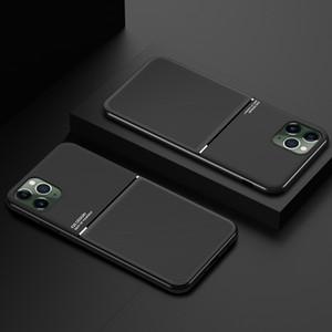 Coque Para iphonePhone 11 8 7 SE 6S 6 Plus XR Pro XS Max X 5S 5 Magnet Anti Choque TPU Pele Shell Case Capa para Apple iPhone SE 2020