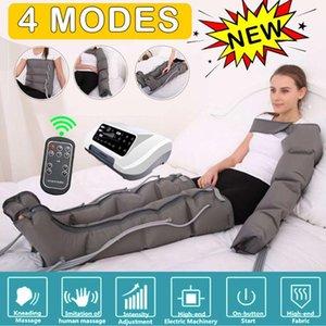 4 Air Chambers terapia de vibração Leg Compression Massager Smart Wireless Infrared Arm cintura ar pneumática Enrole Relaxe alívio da dor