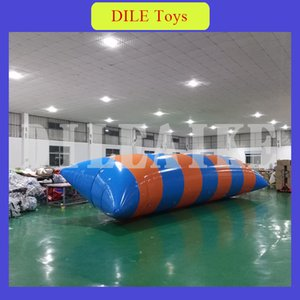 Free Shipping To Door 7m*2m 0.9mm PVC Inflatable Water Blob, Inflatable Water Jumping Ball For Sale