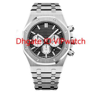 2019 горячие продажи роскошные часы высокого качества ВК хронограф кварцевые часы часы Цельностальные спортивные 3TM водонепроницаемые наручные часы Montre de Luxe