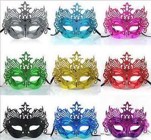 Mysterious Gold Metal Maske Splendida ed elegante Phoenix Eye Masquerade Mask crossdresser femminile