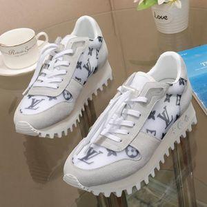 Louis vuitton Herren sportlich Schuhe mit Kasten Luxus Breathable Sports Freizeitschuhe Schuhe de hombre Leder Sneakers Herren Tennisschuhe Runner Sneaker 18