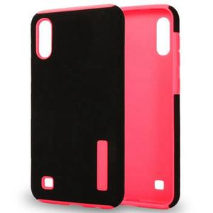 için LG Stylo 6 5 K51 Artisto 5 K31 Harmony 4 Galaxy Note 10 ve Mat Kapak 1 Çift Katmanlar Telefon Case Durum 2
