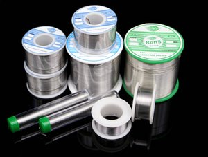 In stock 100g reel Sn63Pb37 Tin 0.5mm 0.6mm 0.8mm 1.0mm Rosin Core Tin Lead 0.8mm Rosin Roll Flux Solder Wire Reel High Quality tin factory
