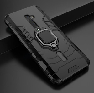 Pour Oppo Reno 2 cas simple LOOP robuste Combo hybride Armure d'impact Support Holster Couverture Cool For Oppo Reno 2