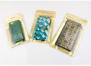 2000 pcs Non-woven Self Seal Zipper Retail Package Cell Phone Case Packaging Bag Puoch Bag for iPhone 5 6 7 plus XS MAX