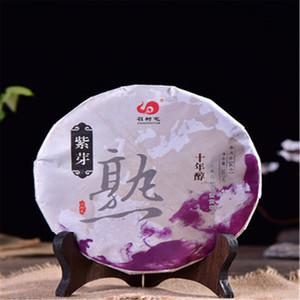 Yunnan Pu'er del brote púrpura de árboles viejos material puro 2016 357g madura