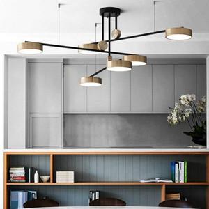 LED Diodo Modern Chandelier Iluminação Nordic teto Hanglamp Bedroom Living room luminárias luminária