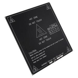 [1-PAKETİ] Reprap 3D Printer 12V / 24V Black için 3 MM MK3 Alüminyum Isıtmalı Yatak Sıcak Yatak PCB Heatbed Platformu