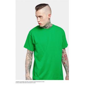 HFNF erkek T Gömlek Nedensel Yuvarlak Boyun Kısa Kollu T Gömlek 2019 Yaz Nefes Pamuk Düz Renk Erkekler