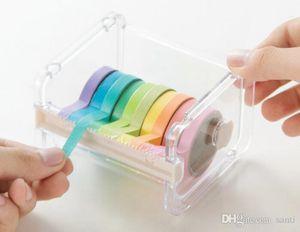 Popolare cancelleria Masking Tape Cutter Washi Tape Storage Organizer Cutter Ufficio Tape Supplies Dispenser per ufficio