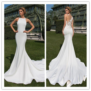 2019 New Heavy Handworks Luxury Pearls Mermaid Wedding Dresses Sweetheart Gorgeous Long Bridal Gowns Sweep Train Customize