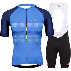 Bretelle ciclismo ropa de hombre 2020 yaz Runchita yanlısı bisiklet giyim kitleri erkeklere ciclismo roupa kısa kollu bisiklet setleri gitmek