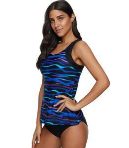 2020 flag on-line barriga grande grande vantagem menina do esporte Biquinis conjunto de praia Gradiente uma peça sexy cobrindo plana ângulo Stripe Imprimir yakuda swimwear