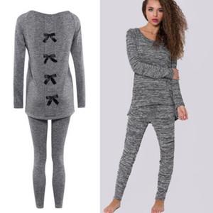 Hirigin femmes filles longues en coton pyjama manches de jeux Accueil Costume Etats-Unis nightwear