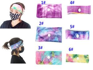 Moda Maske Earloop Hairband Tek Kullanımlık Maske Kulak Toka Elastik Bandı Kulak İpi Tutucu Spor Bantlar Düğme DA383