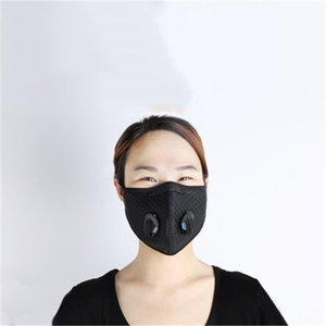 Free DHL Ship!5 Layer Protective Outdoor Security Pm2.5 Safety Anti Dust FaReplacement Mask QAZEC0