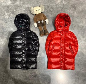 free shipping Winter Jackets 90% Duck Down Padded Children Clothing Boys girls Warm Winter long Down Coat Thickening Outerwear