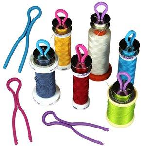 10/20 / 30PCS Bobina Keep Your spolina abbinato con il tuo thread Bobine Craft bagagli Holder bordo di carta colore casuale