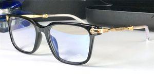 Nouveaux Verres optiques populaires pour hommes rétro Oralover Punk Style Design Retro Square Cadre HD Lens La qualité peut rendre les lunettes de prescription
