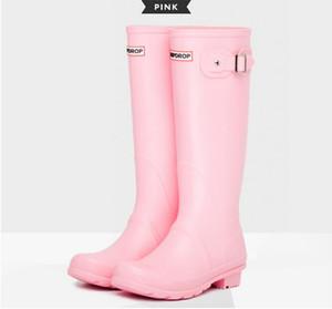 2020 neue Frauen regen Stiefel Dame regen Wasserschuhe Ourdoor wasserdichte Schuhe Gummiregenstiefel Dame Italianate Pvc Rain