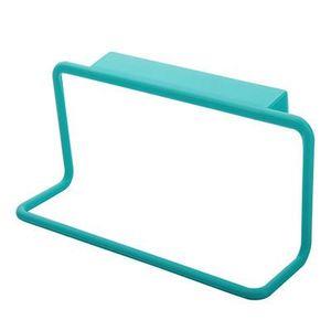 Вешалка для полотенец Подвесной держатель Организатор ванной кухонный шкаф Тумба Вешалка задней двери Повесьте Стойки падения EEA1382-3