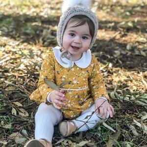 Bebé recién nacido niña muñeca collar flores mameluco mono traje ropa