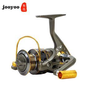 5.1: 1 alta velocidade Pesca Reel Série 1-6BB punho de madeira metal Reel Fishing Reel Roda de giro da roda da máquina Reservatório Pond