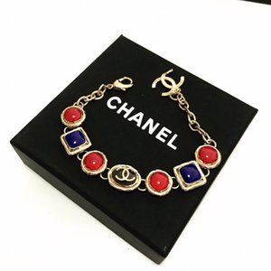 Top Luxury Design Bracelets Lock Lettering Lettering Bracelet Lock Bag Bracelet New Bracelet Jewelry Couple Supply with box mo28