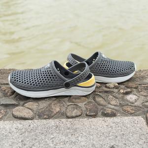 Coslony comodo uomo sandali da piscina estate estate scarpe da spiaggia da esterno uomini scivolando su zoccoli da giardino Acquazzone Casual Shower Pantofole da doccia Unisex