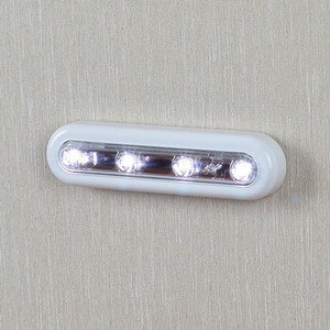 LED Lamp Stick On Wall Lights with Touch Operated Battery Wireless LED Bar Light Kitchen Lamp Bedroom Light