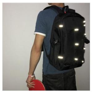 Moda Sırt Çantası Erkek Kadın Sırt Çantası Naylon Su Geçirmez Omuz Çantası Eğlence Seyahat Çantası Öğrenci Messenger Çanta 3 M Yansıtıcı Sırt Çantası 123