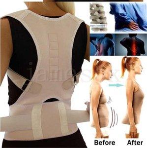 Оптовой Корректор осанки Магнитная терапия Brace плеча Назад Пояс поддержки для мужчин женщин брекеты Поддержка плечевого ремня Posture DA216