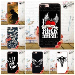 Personalizado Placebo Rock Band macio TPU tampas do telefone capa para Xiaomi redmi Nota 2 3 3S 4 4A 4X 5 5A 6 6A Pro Plus