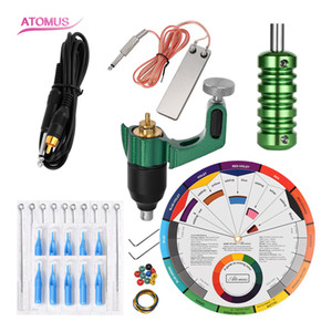 Liner Shader Rotary Kits Machine Tattoo Body Art Rotary Machine Supply Complete Professional Kit Cartridge Tattoo Liner Shader Motor