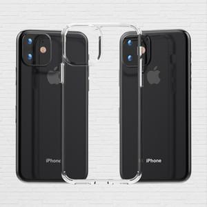 Cas de silicone acrylique clair pour iphone 11 pour Samsung Galaxy A10E A20 A70 pour LG K40 Stylo 5 Arsito 3Plus