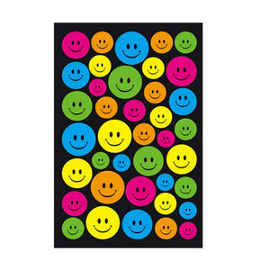 1 Sheet Smiling Face Toy Sticker Mixture Stickers Doodling Travel DIY Stickers on The Car Motorcycle Luggage Laptop Bike Scooter