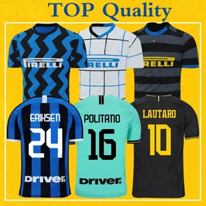 ERIKSEN Inter LAUTARO SKRINIAR 2021 Milan Soccer Jerseys BARELLA LUKAKU 19 20 21 TOP Quality Football inter Football Shirt Uniform
