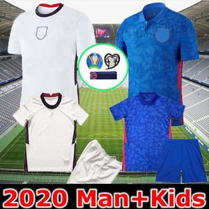 New Tailândia Inglaterra camisa de futebol Euro Cup jérsei 2020 KANE STERLING Rashford 20 21 selecções nacionais de futebol camisas homens crianças uniformes kit