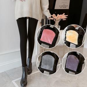 VON EPACKET schwangeren Frauen s Silk Stockings Im Winter Push- und verdickte Leggings Höschen und Socken Einstellbar im Herbst und Winter
