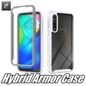 For MOTO G8 Power G7 E7 Galaxy A41 A11 A10S Oneplus 8 Pro Transparent Candy Edge Color Case Shocproof Mobile Phone Cover freegate