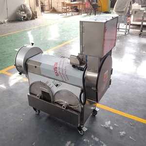 220V 110V 380V electric commercial slicer and shredder / home automatic vegetable cutting and dicing machine / высокое качество и долговечность