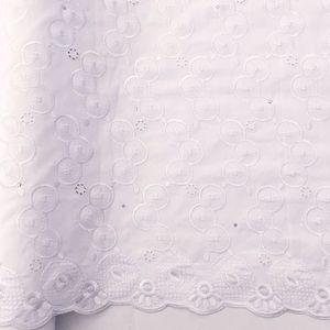WorthSJLH Хлопок Африканский Шнурок Ткани Швейцарский Voile Кружева Ткань Белый 2018 2019 Нигериец Сухой Кружевной Ткани С Камнями