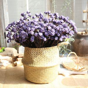 Hochzeits-Dekoration-Rosen-Blumenstrauß 50cm PE-Fälschungs-Blumen-Blumenstrauß 15 Rosen-Blumen-künstliche Blumen-Ausgangsdekoration Partybedarf DBC VT0536