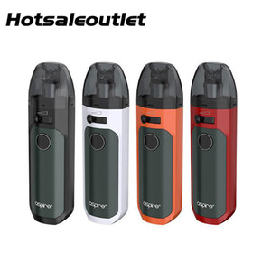 Aspire Tigon AIO Kit 1300mAh e 4,6ml Tigon AIO Pod com Tigon Malha Bobina 0.4ohm / 0.7ohm 100% Original