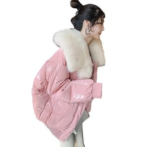 90%White Duck Down Jacket Winter Women 2018 Chaqueta Mujer Coat With Natural Real  Fur Collar Short Parka Female Abrigo Mujer