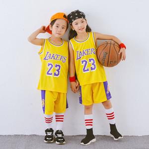 crianças menino de basquete jerseys ginásio treino de roupas para meninos Camiseta De Baloncesto Crianças equipamentos de basquetebol novo personalizado