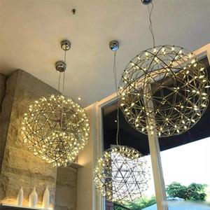 Treppe Kronleuchter kreative Persönlichkeit Nordic Beleuchtung Feuerwerk Sternenhimmel Ball Lichttechnik Restaurant Funken Ball Kronleuchter