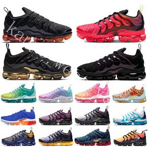 2020 psychique Rose Tn plus Hommes Chaussures de course Triple Noir Volt Laser Crimson Lemon Lime Blue Fury Femmes Sports Taille 36-45 Sneakers Baskets